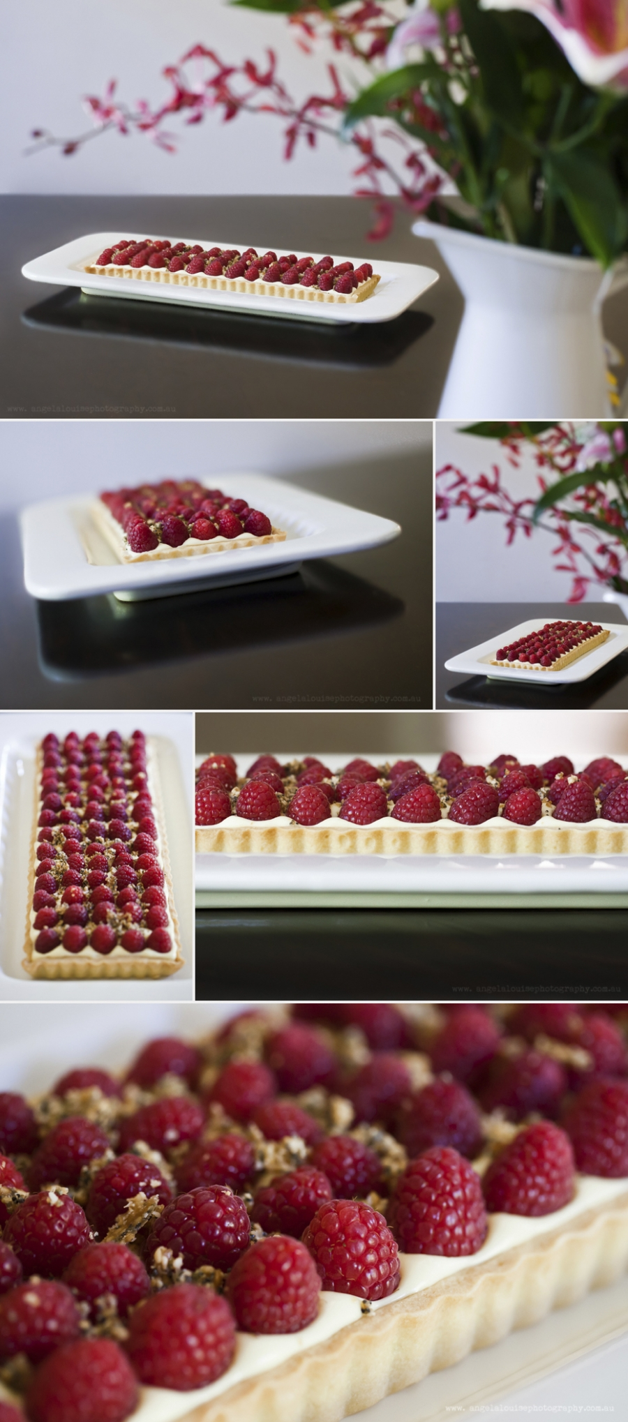 Raspberry Tart by Matt Moran