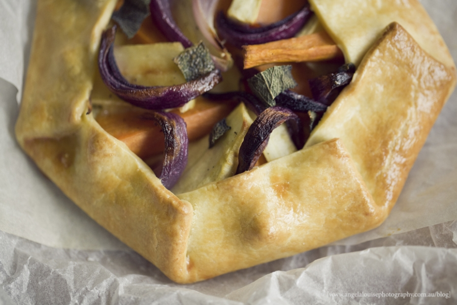 Winter Vegetable and Ricotta Tart